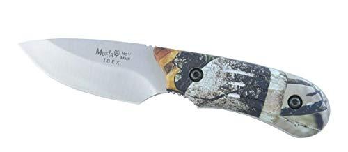 Muela Messer Ibex 8AP - Werkzeug für Jagd, Angeln, Überleben und Bushcraft - Hergestellt in Ciudad Real