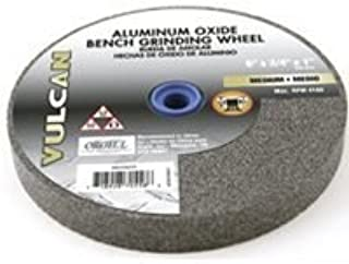 United Abrasives-SAIT 28008 6 by 1 by 1 A80X Bench Grinding Wheel Vitrified 1-Pack