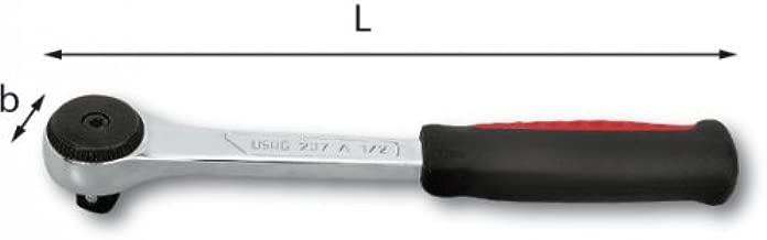 USAG 237 A 3//8 02370004 Cricchetto Reversibile Lunghezza da 183 mm