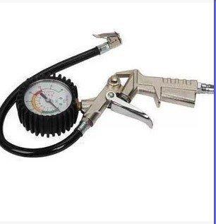 タイヤ エアーゲージ 3ファンクション 空気圧 測定 加圧 減圧可能 パンク 修理 整備 工具 スタッドレス交換時にも!