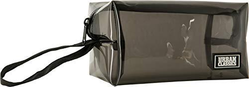 Urban Classics Tranparent Cosmetic Bag Trousse de Toilette Noir Transparent 20 cm