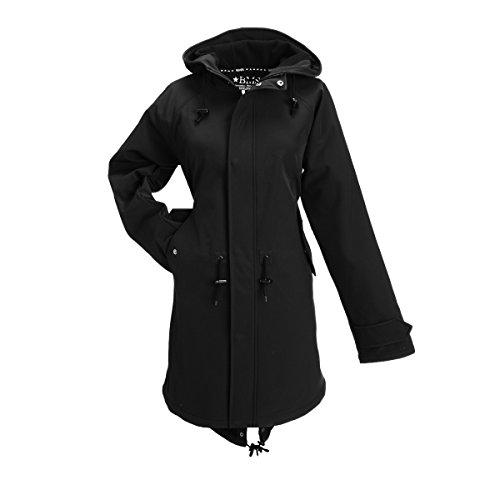 Preisvergleich Produktbild BMS HafenCity Coat Softshell - Damenkurzmantel - schwarz - 46
