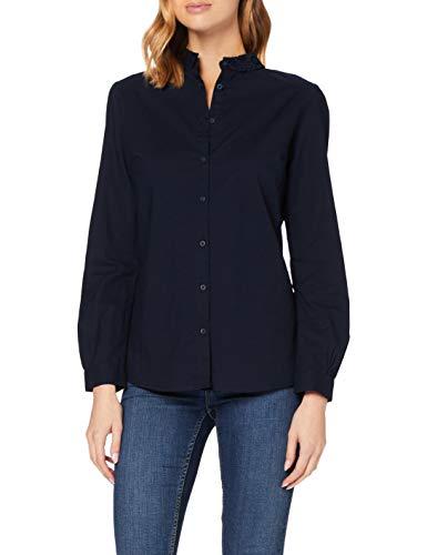 Superdry Womens Penny LACE Shirt Blouse, Midnight, M (Herstellergröße:12)