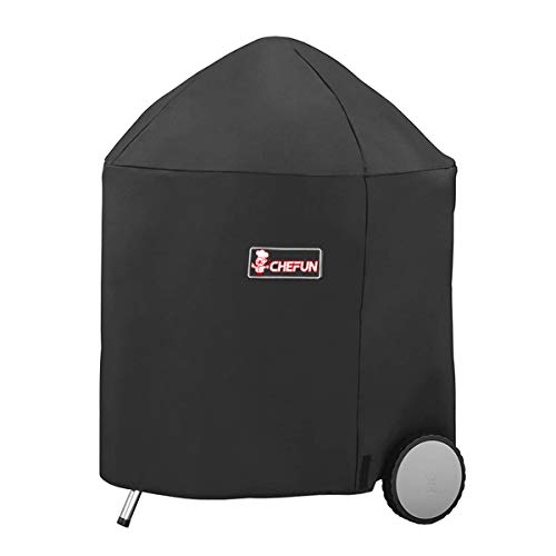 CHEFUN 7153 Grill Cover for Weber Charcoal Kettle, 26 Inch Waterproof...