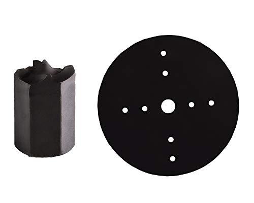 Fartools tb-100 Torno madera 400w 500//1000mm