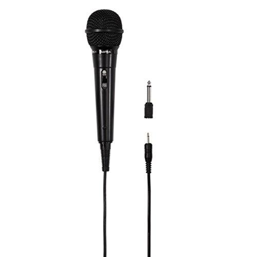 Hama 00046020 Dynamische microfoon DM 20 met cardioïde karakteristiek, kabellengte 2,5 m, zwart