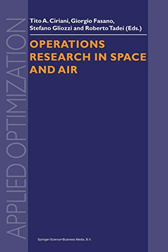 Operations Research in Space and Air (Applied Optimization (79)) download ebooks PDF Books