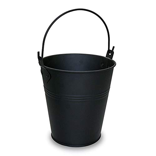 Grisun Wood Pellet Grill Drip Grease Bucket for Traeger, Pit Boss, Z Grill, Camp Chef, Green Mountain Grills Galvanized Steel Metal Pail Accessories