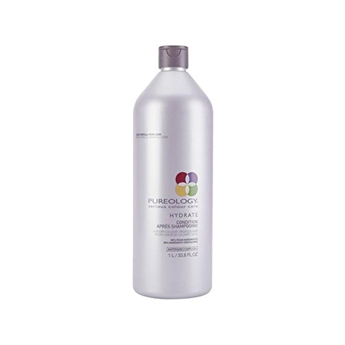 尊敬する人生を作る簡単に純粋な水和物コンディショナー(千ミリリットル) x2 - Pureology Pure Hydrate Conditioner (1000ml) (Pack of 2) [並行輸入品]