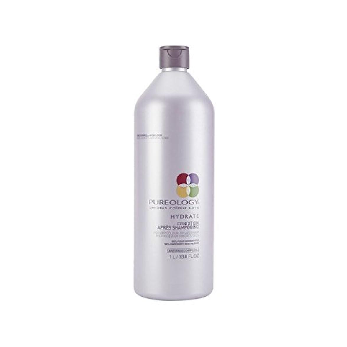 生きている眠っている天窓Pureology Pure Hydrate Conditioner (1000ml) (Pack of 6) - 純粋な水和物コンディショナー(千ミリリットル) x6 [並行輸入品]
