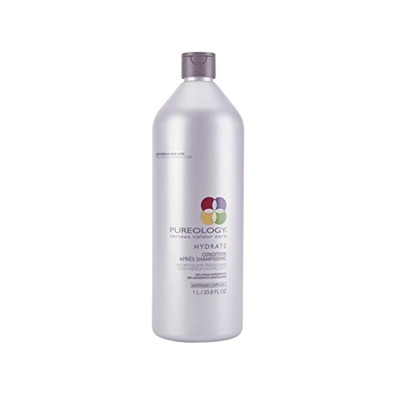 自分の対応目的純粋な水和物コンディショナー(千ミリリットル) x4 - Pureology Pure Hydrate Conditioner (1000ml) (Pack of 4) [並行輸入品]