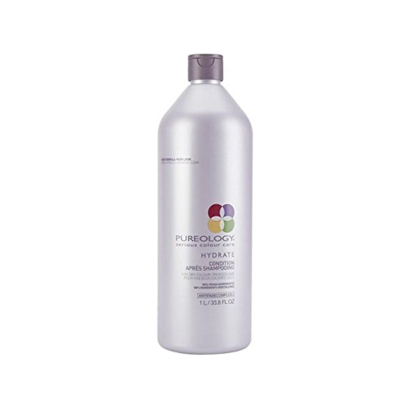 葉を拾う楽観シーケンスPureology Pure Hydrate Conditioner (1000ml) (Pack of 6) - 純粋な水和物コンディショナー(千ミリリットル) x6 [並行輸入品]