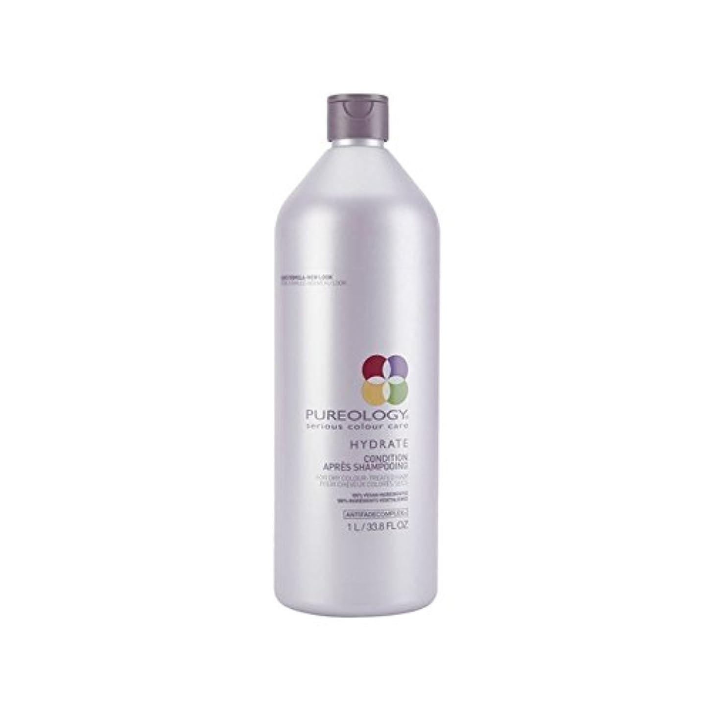 デッド主婦配管工純粋な水和物コンディショナー(千ミリリットル) x2 - Pureology Pure Hydrate Conditioner (1000ml) (Pack of 2) [並行輸入品]