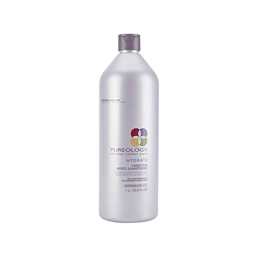 絶対に触覚前提Pureology Pure Hydrate Conditioner (1000ml) - 純粋な水和物コンディショナー(千ミリリットル) [並行輸入品]