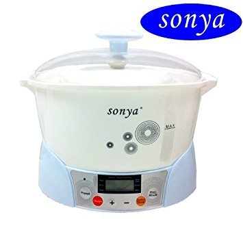 Bonus Pack Sonya Electric Ceramic Slow Stew Pot 3 in 1