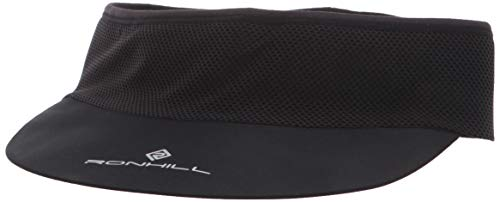 Ronhill Men's Air-Lite Vizor, All Black, One Siz