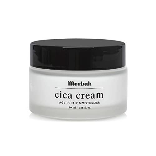 Cica Face Moisturizer for Women Anti-Aging, Anti-Wrinkles Natural Korean Cica Cream 1.7 oz