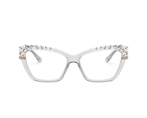 Dolce & Gabbana Gafas de Vista PLISSÈ DG 5050 Crystal 54/15/140 mujer
