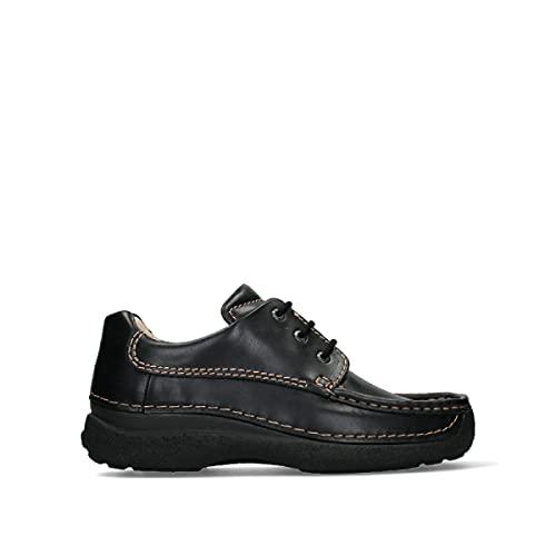 Wolky Comfort Komfortschuhe Roll Shoe Men - 50000 Leder schwarz - 42