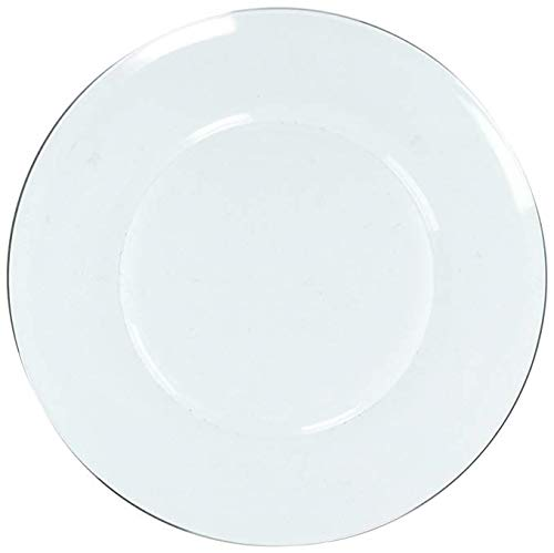 Duralex - Assiette Plate 23,5cm Lys Transparent - Lot de 6