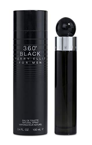 Perry Ellis 360 Black Splash For Men, 3.4 Ounce should be Perry Ellis 360 Black Spray For Men, 3.4 Ounce