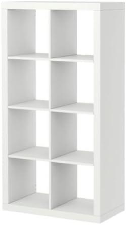 Amazon Com Ikea Kallax Bookcase Room Divider Cube 802 Display White Furniture Decor