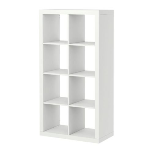 Ikea Kallax Bookcase Room Divider Cube Display