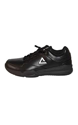 PEAK - Zapatillas de árbitro de baloncesto negro/blanco (EU 41, US 8)