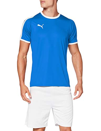 PUMA Liga Jersey Camiseta, Hombre, Azul (Electric Blue Lemonade/White), M
