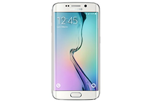 Samsung G925 Galaxy S6 edge Smartphone, 32 GB, Bianco [Italia]