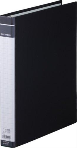キングジム リングバインダー BF 668BF A4S 黒