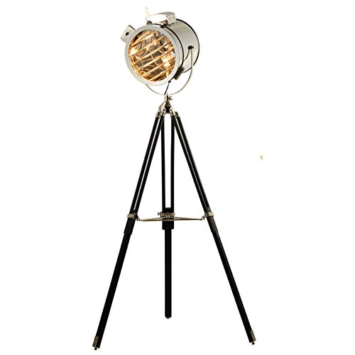 Retro Industrial viento Hierro Lámpara Salón Dormitorio Estudio trípode Lámpara Decoración del hogar nórdicos E27 diseñador Lámpara