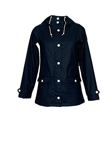 derbe Damen Regenjacke Peninsula Fisher Jacke Navy (42)