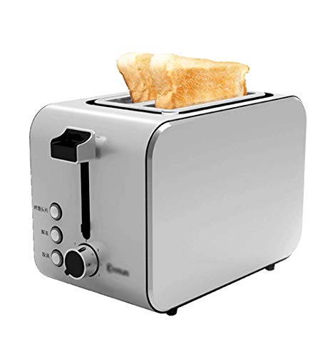 Buy Bread Machine Toaster, Home 2 Piece Breakfast Toaster, Stainless Steel Roasting Spit Driver, 750...