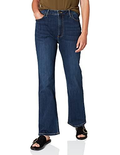 Wrangler Damen HIGH RISE BOOTCUT Jeans, Stockton,...