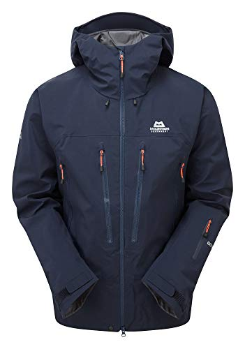 Mountain Equipment M Changabang Jacket Blau, Herren Gore-Tex Regenjacke, Größe S - Farbe Cosmos
