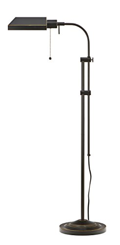 Cal Lighting Adjustable Height Pharmacy Floor Lamp