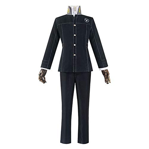 Persona 4 Cosplay Costumes,Yu Narukami Kujikawa Rise Shirt Jacket Coat Pleated Skirt Uniform