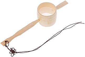 ESTone bambusowy sitko do herbaty zaparzacz filtr kuchenny siatka poręczny ręcznie wykonany cedzak