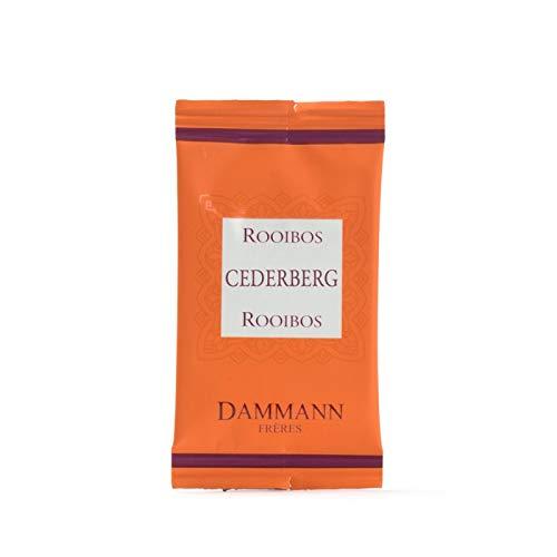 Pasticceria Passerini dal 1919 Dammann Tisane Rooibos Cederberg - Té de Rooibos sin teína, 24 bolsitas - Dammann Frères
