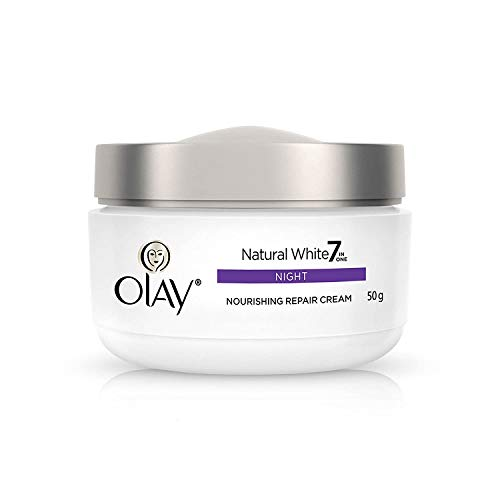Olay Night Cream Natural White Fairness Night Moisturiser, 50g