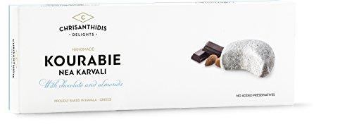 Chrisanthidis S.A. Kourabie Buttergebäck mit Schokolade und Mandeln 200g, 2er Pack (2 x 200 g