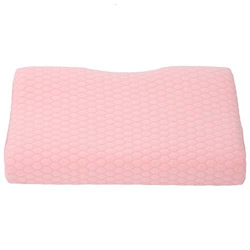 Semiter Gedächtniskissen, sechseckiges Kariertes Gedächtnisschaumkissen, rosa weiche Halswirbelsäulenpatienten für ältere Unisex-Schwangere