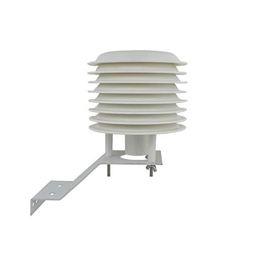 Otomatico Garita estacion meteorologica 4-20 Platos para Sensor meteorologico estacion Meteo Exterior Base Centro meteorologica caseta metereologica (8 Platos)