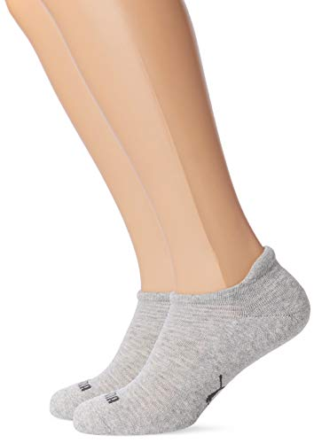 PUMA Damen SNEAKER 2P WOMEN Socken, Grey Melange, 39-42 (2er Pack)