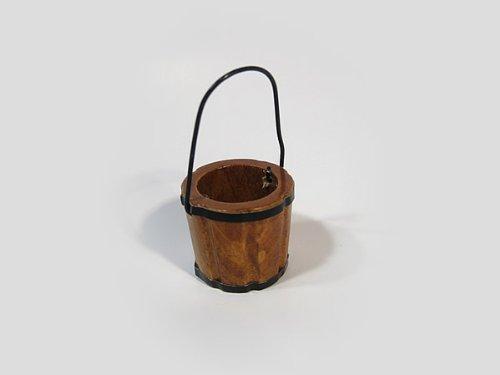 Holzkübel 2,5 cm, Krippenzubehör