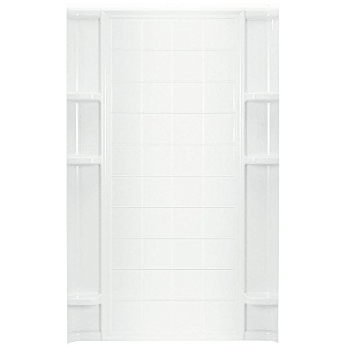 STERLING China/Vikrell Ensemble Tile Alcove 48-Inch Shower Back Wall #72122100-0