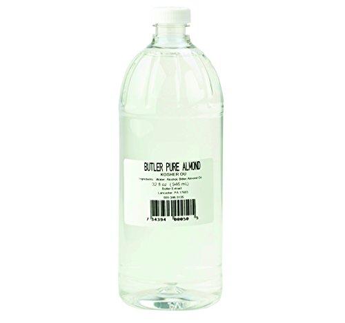 Butler's Best Pure Almond Extract 32 oz. Plastic Bottle (2 Bottles)