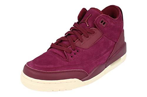 Nike Wmns Air Jordan 3 Retro Se - bordeaux/bordeaux-phantom, Größe:8