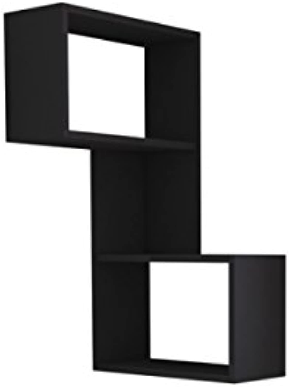 Ada Home Décor DCRW2177 Wingate Wall Shelf, 19'' x 34'' x 8'', Anthracite